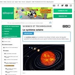 Bibliothèque virtuelle Le système solaire