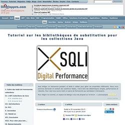 Tutoriel sur les bibliothèques alternatives pour les collections Java