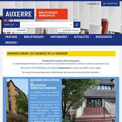 89 Bibliothèques d'Auxerre -