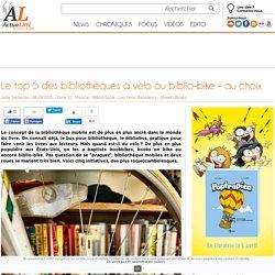 Le top5 des bibliothèques à vélo ou biblio-bike – au choix