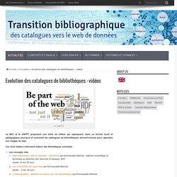 Evolution des catalogues de bibliothèques : vidéos