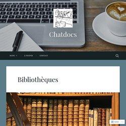 Bibliothèques – Chatdocs
