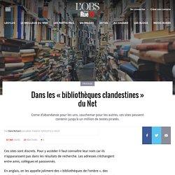 Dans les «bibliothèques clandestines» du Net