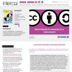 Bibliothèques et communs de la connaissance – Inter CDI
