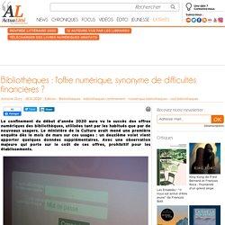 Bibliothèques : l'offre numérique, synonyme de difficultés financières ?