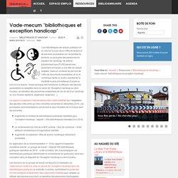 Bibliofrance.org - bibliothèques et exception handicap