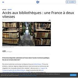 Accès aux bibliothèques : une France à deux vitesses