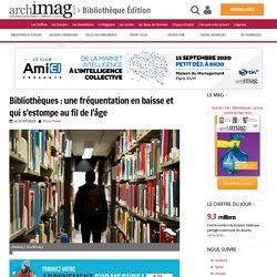 Bibliothèques : une fréquentation en baisse et qui s'estompe au fil de l'âge