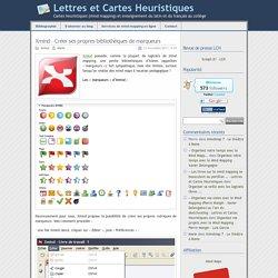 créer sa bibli de marqueurs pour Xmind