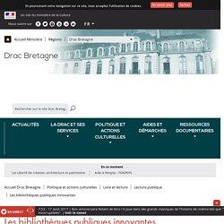 Les bibliothèques publiques innovantes - Drac Bretagne