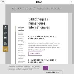 Bibliothèques numériques internationales