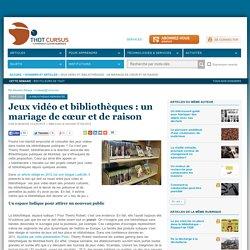 Jeux vidéo et bibliothèques: un mariage de cœur et de raison