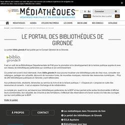 Portail des médiathèques de Bordeaux Métropole