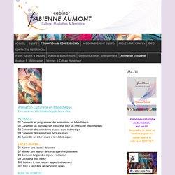 Animation Culturelle en Bibliothèque - fabienneaumont.com