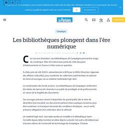 leparisien.fr. Les bibliothèques plongent dans l'ère numérique - Le Parisien
