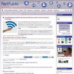 Les bibliothèques prêtent des bornes WiFi pour lutter contre la fracture numérique