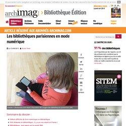 Les bibliothèques parisiennes en mode numérique