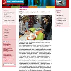 Ville de Saint-Etienne-du-Rouvray - site officiel - Bibliothèques: des pochettes-surprises pour l'été
