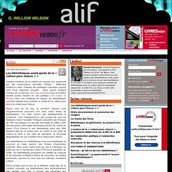 Les bibliothèques avant-garde de la « culture pour chacun » ? : le blog de Claude Poissenot - Livres Hebdo