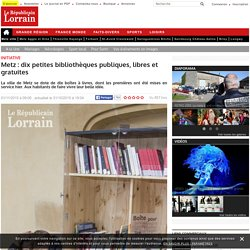 Metz : dix petites bibliothèques publiques, libres et gratuites