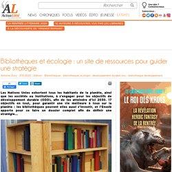 Bibliothèques et écologie : un site de ressources pour guider une stratégie