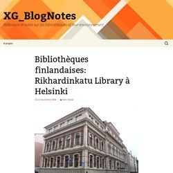 Bibliothèques finlandaises: Rikhardinkatu Library à Helsinki
