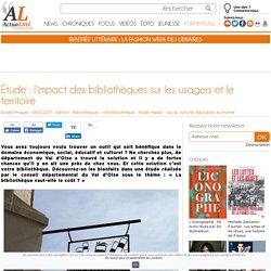 Étude : l'impact des bibliothèques sur les usagers et le territoire
