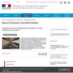 """Plan """"Bibliothèques ouvertes +"""""""