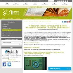 Retour en images sur la Journée d'étude - Bibliothèques - Université de Pau et des Pays de l'Adour (UPPA)
