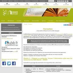 Formation - Bibliothèques - Université de Pau et des Pays de l'Adour (UPPA)