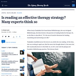 Bibliotherapy: How reading books can improve mental health