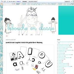 BIBOUCHE EN CLASSE : carnet de sons (voyelles) illustré des gestes Borel-Maisonny
