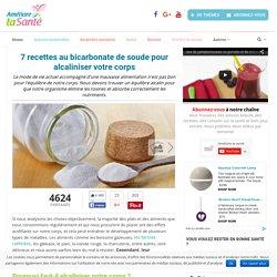 7 recettes au bicarbonate de soude pour alcaliniser votre corps