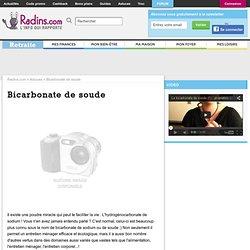 Bicarbonate de soude : tous nos articles gratuits - Radins.com
