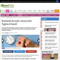 Bicarbonate de soude : astuces écolo 'hygiène et beauté'