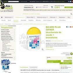 BICARE PLUS GIFRER bicarbonate de soude + bromélaïne lutte contre tartre, plaque dentaire, caries