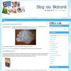 Bicarbonate de Soude : lequel choisir ?