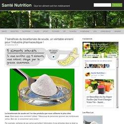 7 bénéfices du bicarbonate de soude, un véritable ennemi pour l'industrie pharmaceutique