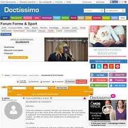 BICARBONATE DE POTASSIUM - Sport et santé - FORUM Forme & Sport