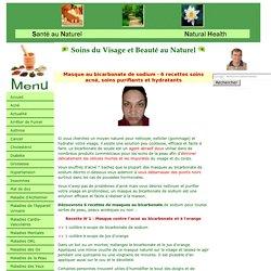 Masque au bicarbonate de sodium - 6 recettes soins acné, soins purifiants et ...
