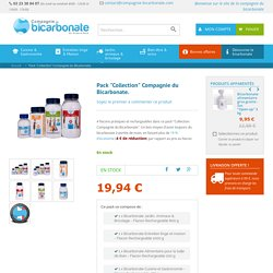 Pack Collection Compagnie du bicarbonate – 4 flacons rechargeables de bicarbonate alimentaire
