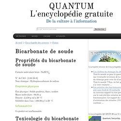 Bicarbonate de soude bicarbonate pearltrees - Bicarbonate de soude et bicarbonate de sodium ...