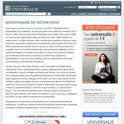 BICENTENAIRE DE VICTOR HUGO
