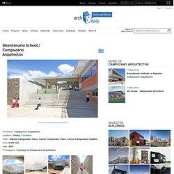 Bicentenario School / Campuzano Arquitectos