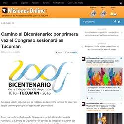 Camino al Bicentenario: por primera vez el Congreso sesionará en Tucumán