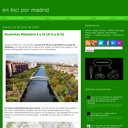 en bici por madrid: junio 2008