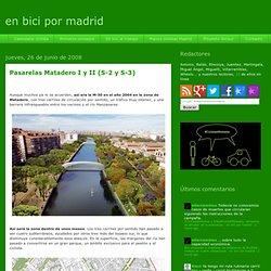 en bici por madrid: junio 2008