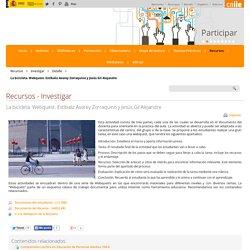 La bicicleta. Webquest. Estíbaliz Asorey Zorraquino y Jesús Gil Alejandre