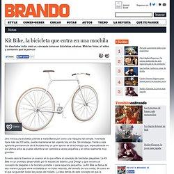 Kit Bike, la bicicleta que entra en una mochila