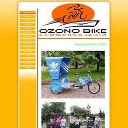 Página principal - Bicicletas con publicidad